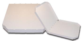 Obrázek Pizza krabice, 37 cm, bílo bílá bez potisku