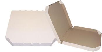 Obrázek Pizza krabice, 35 cm, bílo hnědá bez potisku