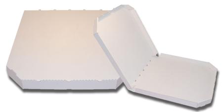 Obrázek z Pizza krabice, 28 cm, bílo bílá bez potisku