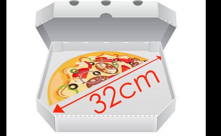 Obrázek pro kategorii Krabice na pizzu 32 cm